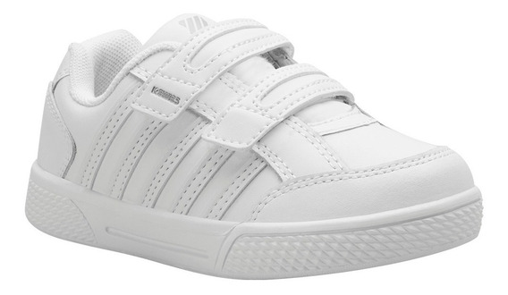 Tenis K-swiss Kid Court Children Escolar Piel