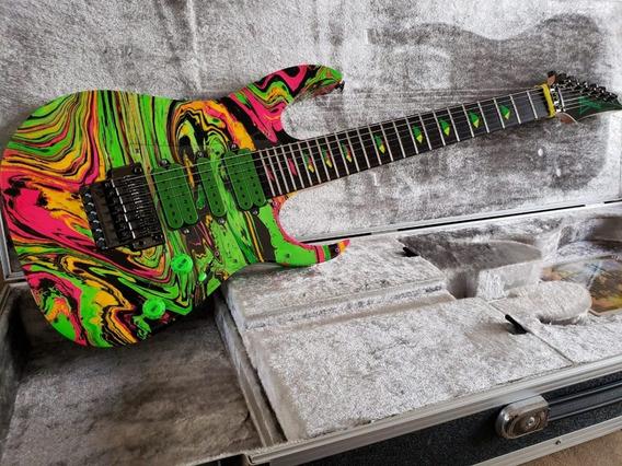 Guitarra Ibanez 77uv Reissue Multicolor Steve Vai