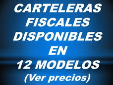 Carteleras Fiscales Fabricadas En Acrílico