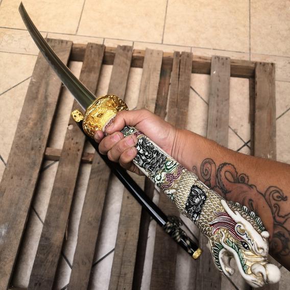 Katana C Filo Maximo Connor Mcleod Highlander Full Tang 003