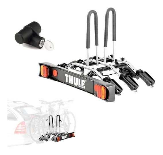 Suporte Engate Reboque Thule 9503 P/ 3 Bicicletas + Trava
