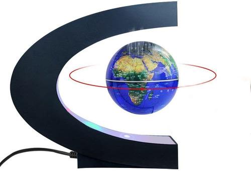 Levitación Magnética Flotante Globo Mapa Del Mundo Co...