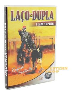 Dvd Laço Em Dupla - Team Roping - Único