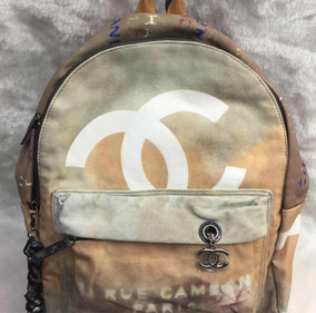 6ad31820a Mochila Chanel Graffiti Canvas Destroyed - Calçados, Roupas e Bolsas ...