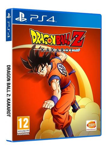 Imagen 1 de 8 de Juego Fisico Original Dragon Ball Z Kakarot Sony Ps4 Oficial