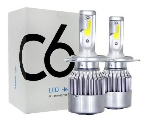 Luces Led C6 - H7 - 7600 Lm - Tono 6000k - Led: Cob C/vent.