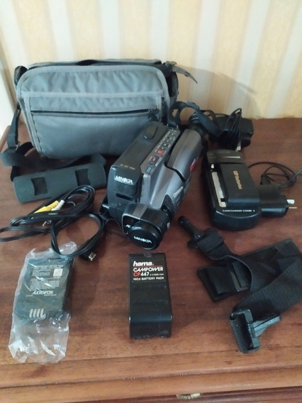Video Cámara Minolta Master 8-418 8x Power Zoom + Cargadores