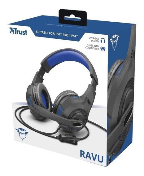Auricvular Gamer Ravu Ps4 Pro Ps4 Trust Gxt Plugs Over Ear