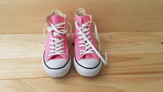 Zapatillas Converse All-star Botitas Hi - Rosa