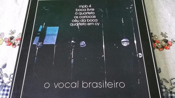 Caixa (box) Vinil O Vocal Brasileiro ( 4 Lp