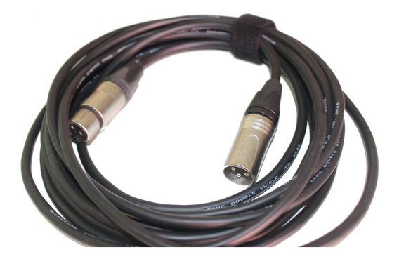 Cabo Xlr/xlr Para Microfones Tec7 Phantom Power