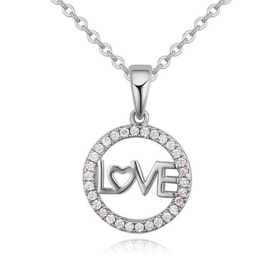 Collar Con Cristales, Ocean Heart Oh16-736