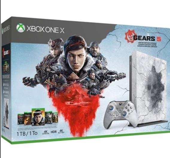 Xbox One X 1 Tb Gears 5 Edição Limitada A Pronta Entrega