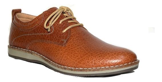 Zapatos Argentinos De Cuero Cordones Hombre 39 Al 45