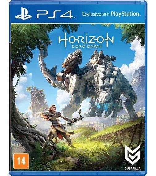 Horizon Zero Dawn Ps4 Mídia Física Novo
