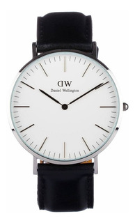 Reloj Daniel Wellington Classic Sheffield 40 Mm Silver White