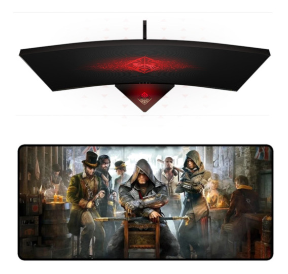 Mouse Pad Gamer Extra Grande Barato Mousepad Exbom 90x40 Cm