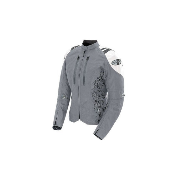 Joe Rocket Atomic 4.0 Womens Textile Riding Jacket (plata /