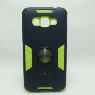 Funda Grand Prime Samsung Prime Plus Rubo Anillo Verde Negro