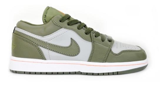 Tenis Nike Jordán Retro 1 Militar Oferta