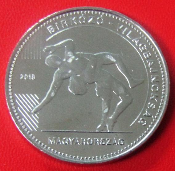 Hungria Moneda 50 Florines 2018 Campeonato Lucha Libre