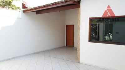 Casa Com 3 Dormitórios Para Alugar, 101 M² Por R$ 1.300/mês - Parque Das Nações - Americana/sp - Ca2484