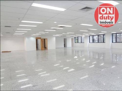 Sala Para Alugar, 234 M² Por R$ 23.000,00/mês - Bela Vista - São Paulo/sp - Sa0306
