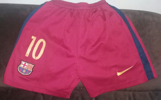 Camisa Barcelona +calção Barcelona 10 Anos