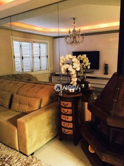 Casa Com 3 Dormitórios À Venda, 155 M² Por R$ 375.000 - Scharlau - São Leopoldo/rs - Ca2865