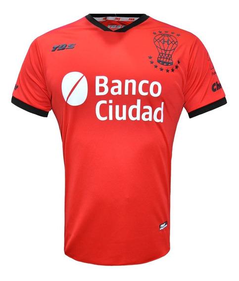 Camiseta Alternativa Huracan Tbs 2020 Original Roja Cuotas