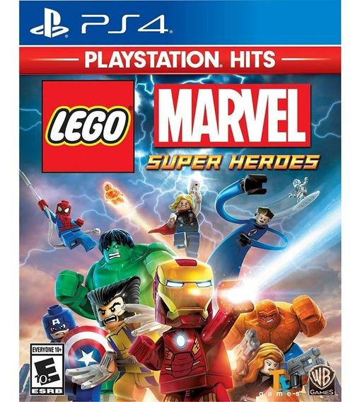 Lego Marvel Super Heroes Ps4 Jogo Em Português Mídia Física