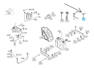 Sensor Nivel Urea Atron 1634