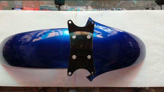 Paralama Dianteiro Yamaha Rd 350 Azul C/suporte