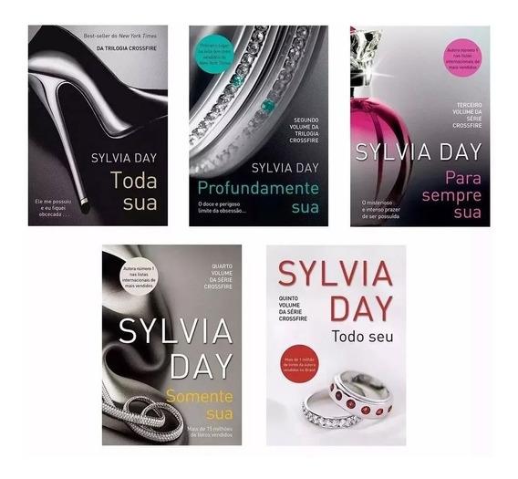 Kit Livros Série Crossfire - 5 Livros - Sylvia Day