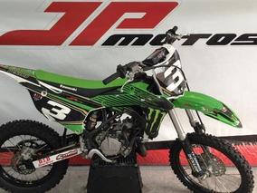 Kawasaki Kx 100 2017 Verde C/ Nota Fiscal E Di