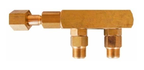 Espigão Duplo | Conector Duplo Equipamentos De Co² (rosca)