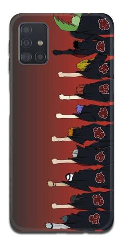 Imagen 1 de 10 de Funda Samsung A31 A21s A11 Naruto Akatsuki 3