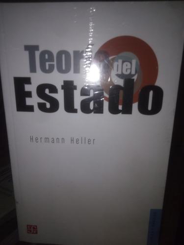 Teoría Del Estado. Hermann Heller. Fondo De Cultura