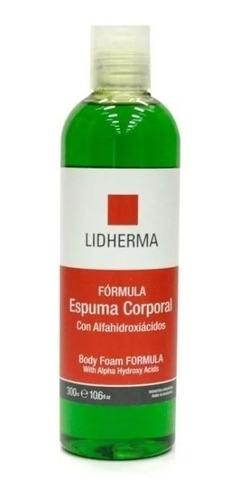 Espuma Corporal Centella Asiatica Higiene Lidherma