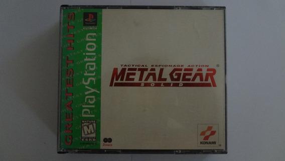 Metal Gear Solid Ps1 Original Usado