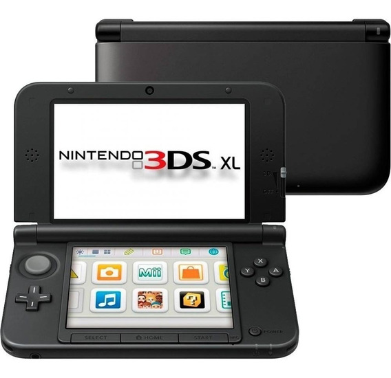 Console Nintendo New 3ds Xl - Preto