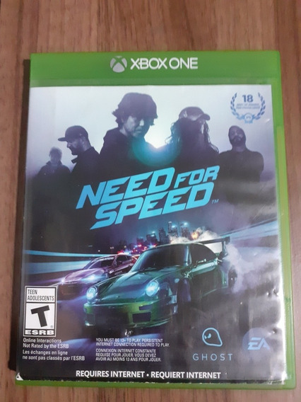 Jogo Need For Speed Original Xbox One Midia Física