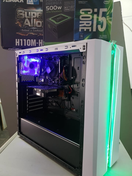Pc Gamer I5 7400 / 4 Gb Ram Hyperx / Ssd240 Gb / Gtx 1050 /