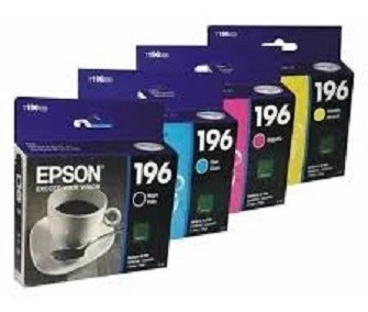 Cartuchos Epson Serie 196 Vencidos 4 Color (40 American)