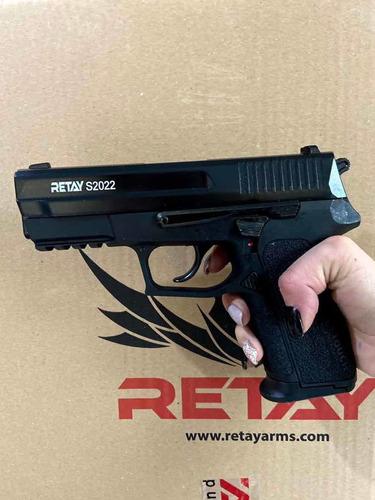 Pistolas Traumaticas Retay 9mm 2 Proveedor + 50 Tiros + Envi