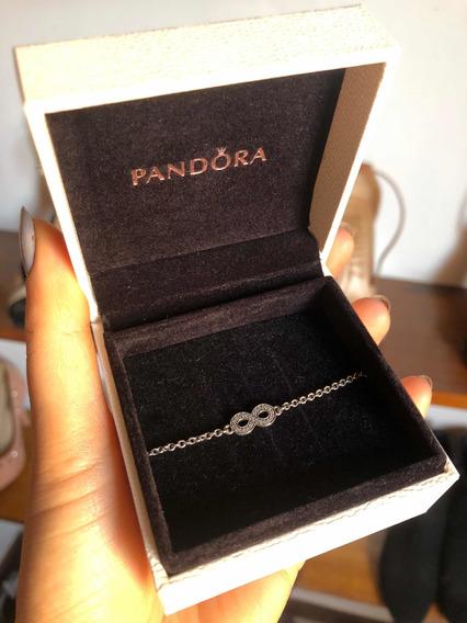 Pulseira Pandora Símbolo Do Infinito Prata 925