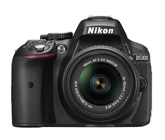 Nikon D5300 24.2 Mp Cmos Digital Slr 18-55mm F/3.5-5.6g Ed