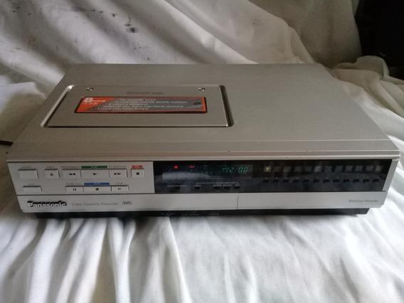 Vídeo Cassette Panasonic Pv-1231r Com Acessórios