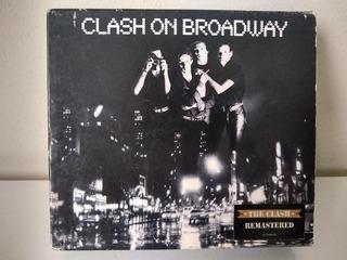 The Clash On Broadway Box 3cds Imp Frete Free