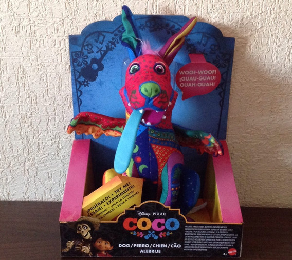 Dante Alebrije Peluche Parlante Coco Disney Pixar Original